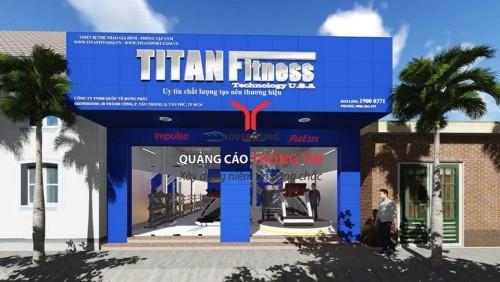 Bảng hiệu của TiTan Fitness