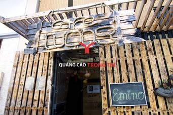 Gợi ý những ý tưởng cho bảng hiệu độc đáo quán café.